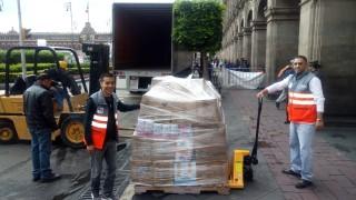 ENVÍA CDMX TRES Y MEDIA TONELADAS DE AYUDA A DAMNIFICADOS EN GUATEMALA
