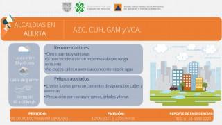 SE ACTUALIZA ALERTA NARANJA Y ALERTA AMARILLA POR PERSISTENCIA DE LLUVIAS