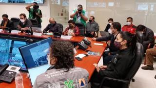 SE LLEVA A CABO CON ÉXITO EL SEGUNDO SIMULACRO NACIONAL 2021 EN LA CIUDAD DE MÉXICO